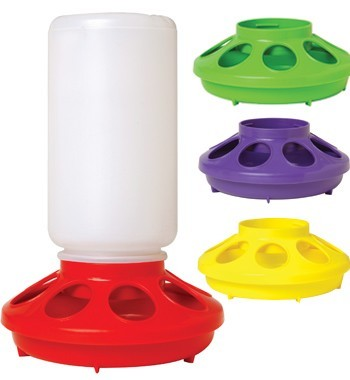Poultry Feeder 1kg 8 Hole