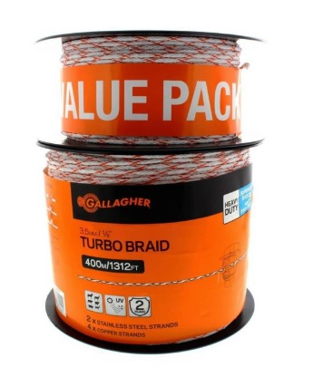 Gallagher Turbo Braided Wire 535m G62159
