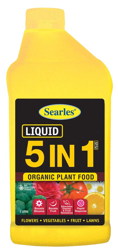 Searles 5 in 1 Liquid Organic Plant Food 1L