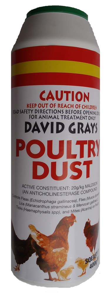 David Grays Poultry Dust 400g
