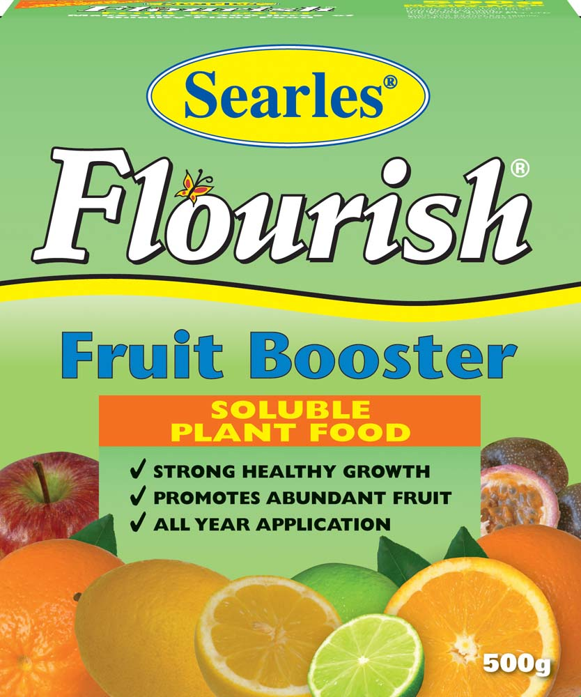 Searles Flourish Fruit Booster Soluble Plant Food 500g