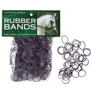 Mane Braid Rubber Bands Chestnut