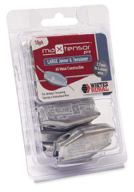 Whites Wires MaxTensor® LARGE Wire Joiner & Tensioner (Blister) 10 Pack