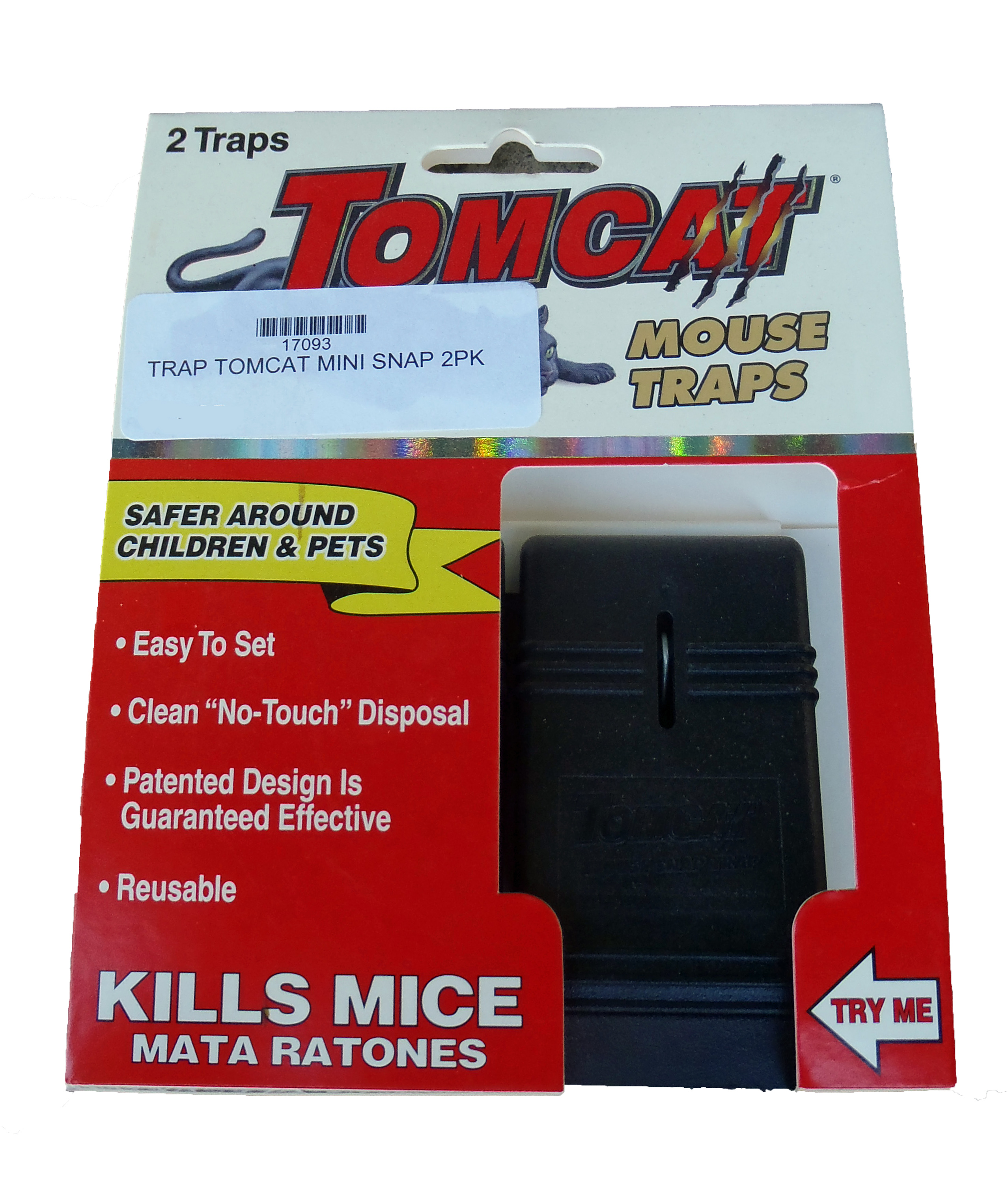 Tomcat Mouse Snap Trap 2 Pack