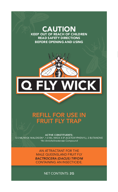 Bugs for Bugs Q Fly Wick - Replacement/Refill