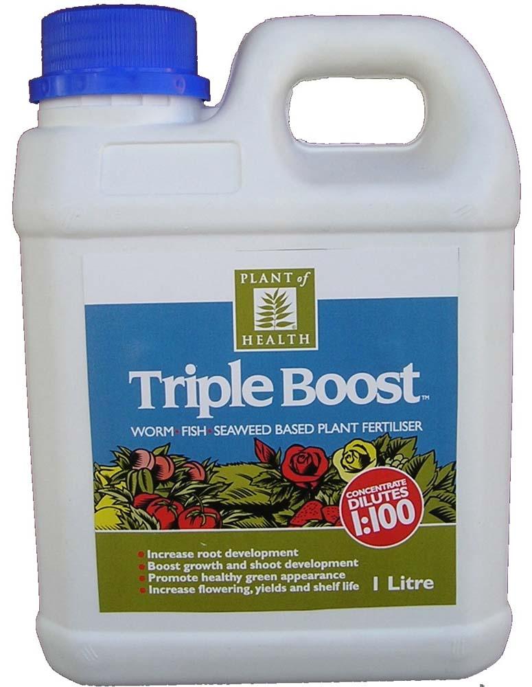 Triple Boost 1L Plant of Health