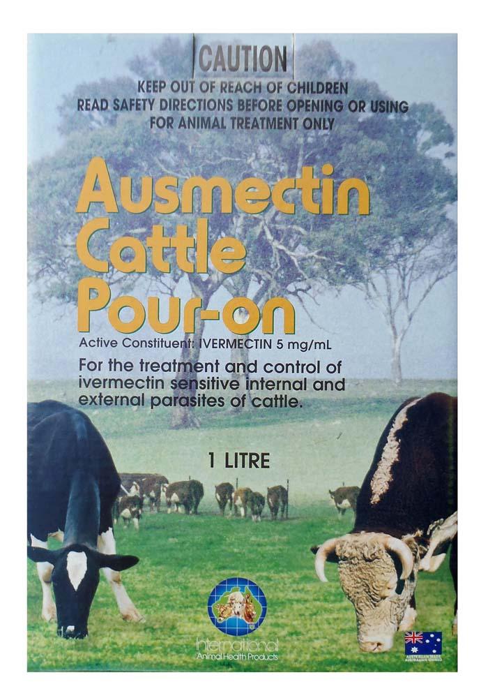 Ausmectin Cattle Pour On 1L
