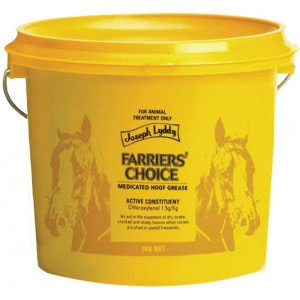 Farriers Choice Medicated Hoof Grease 1kg