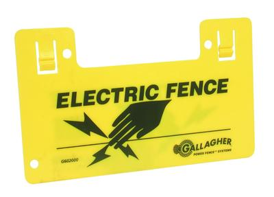 Gallagher Electric Fence Sign - Double Sided G602000
