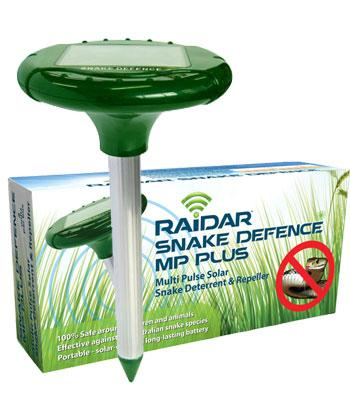 Snake repeller - Snake Defence MP Plus Solar - Twin Pack