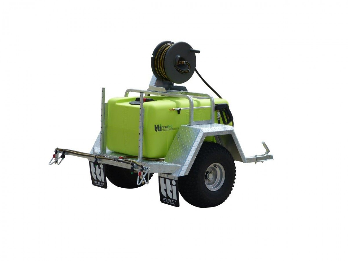 TrailPro 200 Litres - Trailer Sprayer with Versatile Boom, 30m Hose Reel