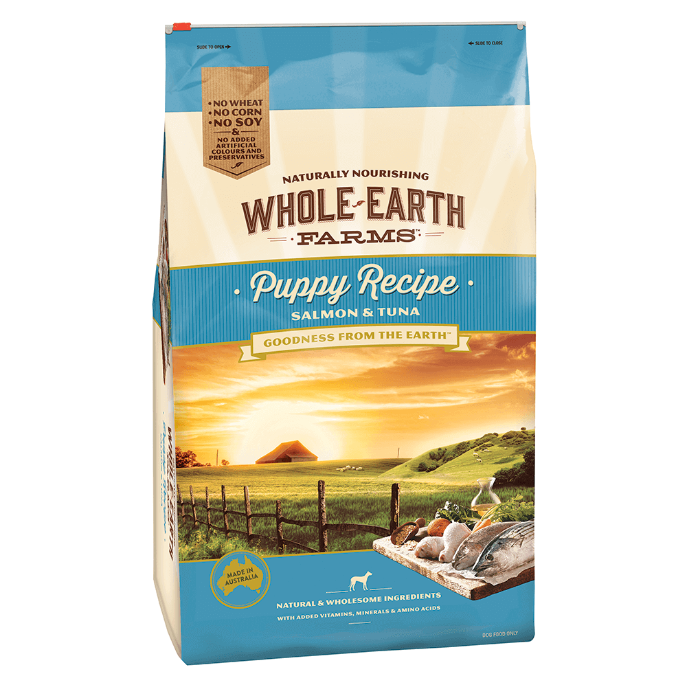 Whole Earth Farms Puppy Recipe with Salmon and Tuna 15kg